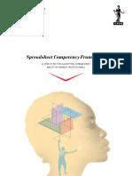 Spreadsheet Competency Framework