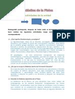 Actividades de Didactica I