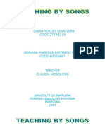 Project Teaching by Songs
