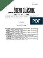 Sluzbeni Glasnik Grada Mostara Broj 5 2019
