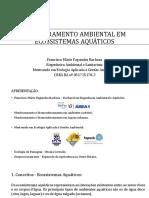 Monitoramento Ambiental Em Ecossistemas Aquáticos