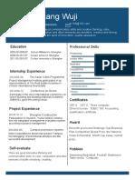 3Personal Resume-WPS Office