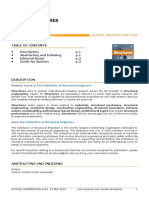 Structure Journal Guideline