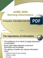 000-03 Nursing Informatics in the Health Care Professions OK