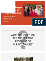 Social Issues and Threats affecting Filipino Families
