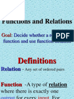 Function Relation