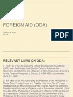 Presentation Foreign Borrowing (ODA) [Revised]