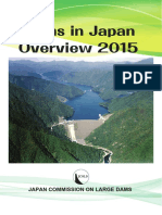Dams in Japan Overview 2015