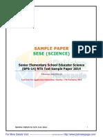 Senior Elementary School Educator Science