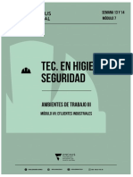 Modulo 7- Ambientes de Trabajo III - Efluentes Industriales.