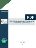 Guia de Primeros Auxilios en Situacion de Emergencias y Desastres