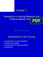 000-Nursing Research - Evidence Based