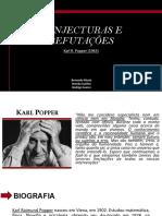 Popper Conjecturas e RefutaçõEs