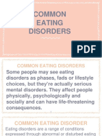 Common Eating Disorder