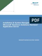 NAV Installation and System Management Handbook