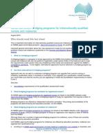 Nursing and Midwifery Board FAQ Bridging Program FAQ for Internationally Qualified Nurses and Midwives