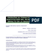 128971933 Energias Alternativas y Sustitucion Del Petroleo