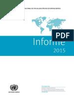 9.3. Informe de La JIFE 2015