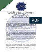 Diccionario Inmobiliario Ical 2