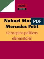 Conceptos Políticos Elementales. Nahuel Moreno