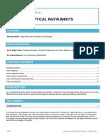 Optical Intrumental