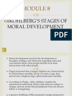 Kohlbergs Stages of Moral Development