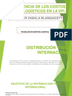 Incidencia de Los Costos Logisticos en La Dfi