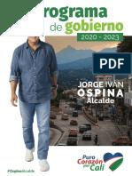 Plan de gobierno Jorge Iván Ospina
