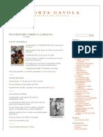 FIGURAS DEL TOREO A CABALLO | A PORTA GAYOLA