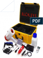 Buckleys Cathodic Protection - (CP) Meter - Manual