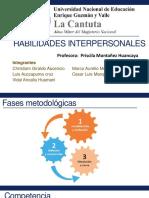 Trabajo de Habilidades Interpersonales