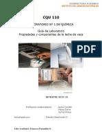 Guia de Laboratorio N 1 Propiedades de La Leche 2019-10