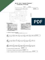 Evaluaciones musicales