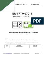 ER TFTM070 5 Datasheet