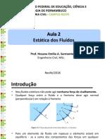 307808-Aula_2-_Estática_dos_Fluidos_com_exercícios.pdf