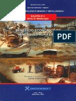 Boletin Nº 006- Beneficio Económico de Minerales Auríferos
