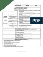 Formato de Informe Sobre El Trabajo Tutorial