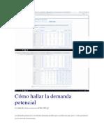 Cómo hallar la demanda potencial.docx