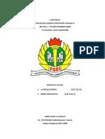 Contoh laporan PKL jurusan tkj