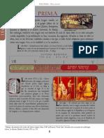 Línea del tiempo del desarrollo del latín