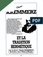 Kremmerz Et La Tradition Hermétique