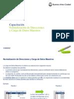 Manual de Usuario - Normalizador de Direcciones