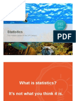 this is statistics presentation pdf