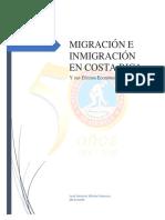 Migracion en Costa Rica