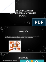 Presentaciones Multimedia y Power Point