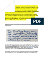 PDReader Code embedded in Character and Handwriting Recognition
