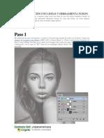 Crear Ilustración Con Lineas y Herramienta Fusion