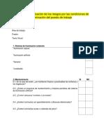Test para la evaluación de los riesgos por las condiciones de iluminación del puesto.docx