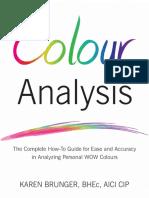 Colour Analysis