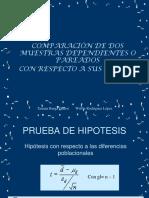 10° Clase PRUEBA DE HIPOTESIS PARA DOS  MUESTRAS RELACIONADAS (1) (1).ppt